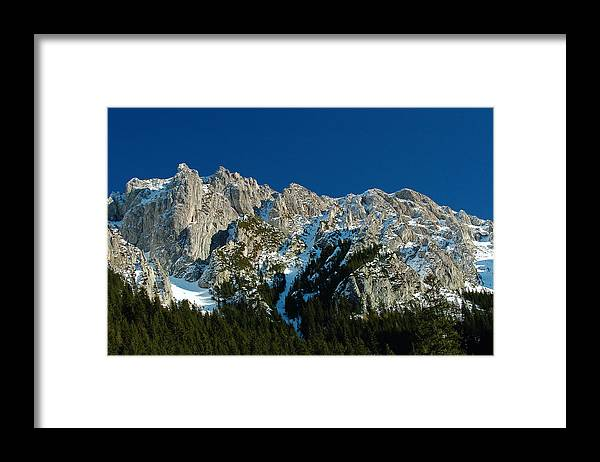 Mountains Framed Print featuring the photograph Tatra mountains winter scenery by Waldek Dabrowski