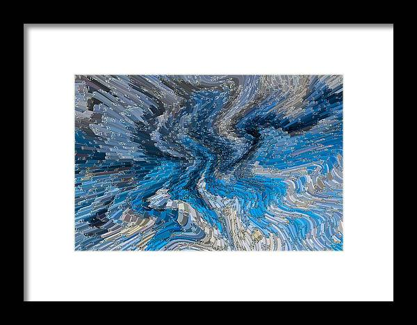 Art Abstract 3d Framed Print