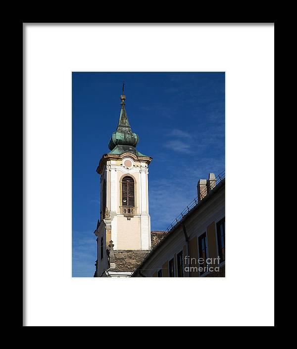 Abbey Framed Print featuring the photograph Church by Odon Czintos