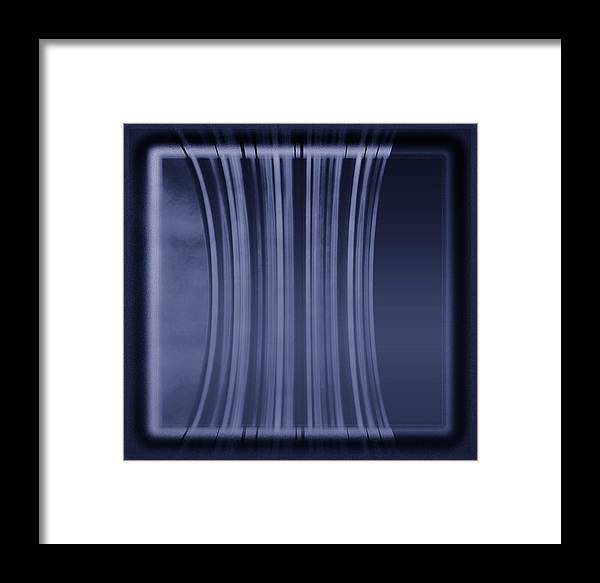 Digital Graphic Framed Print featuring the digital art Color Tablet by Mihaela Stancu