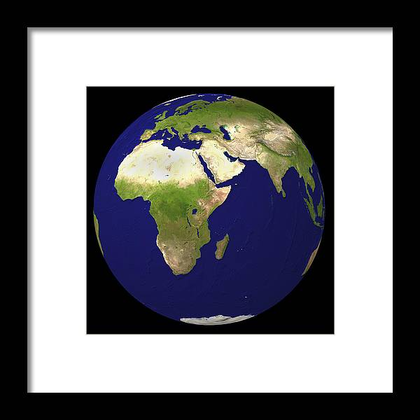 Earth Framed Print featuring the photograph Earth by Friedrich Saurer