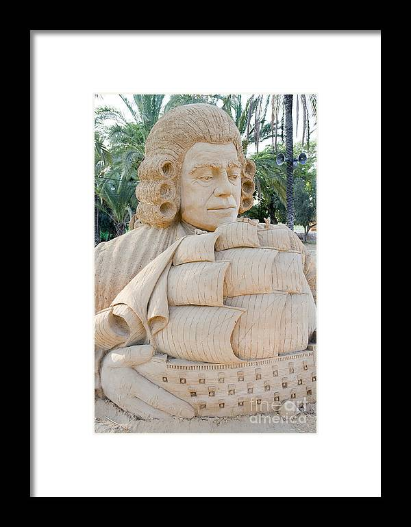 Gulliver's Travels Framed Print featuring the photograph Fairytale Sand Sculpture by Sv