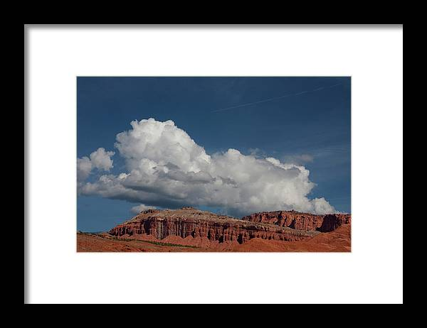 Southern Utah Framed Print featuring the photograph Capitol Reef National Park by Southern Utah Photography