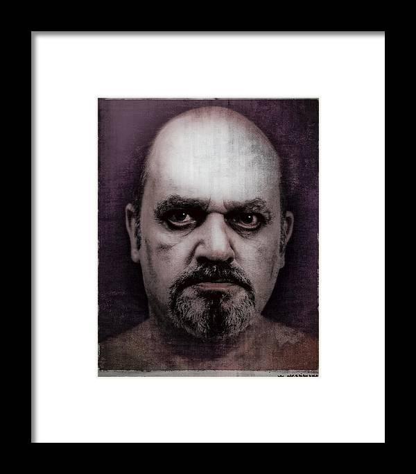 Boek Framed Print featuring the photograph Herman by Rudy Van Acker