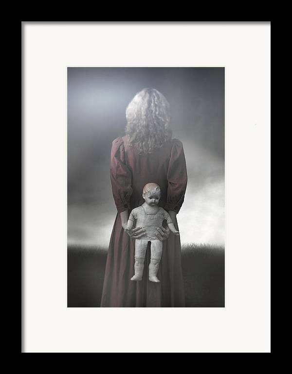 Woman Framed Print featuring the photograph Old Doll by Joana Kruse