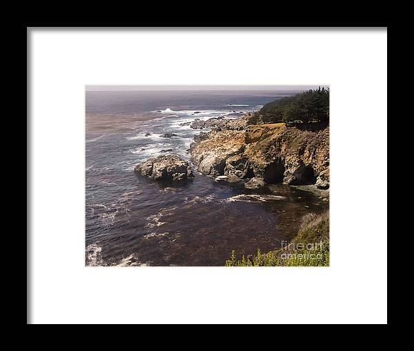 Print Framed Print featuring the photograph 584 Pr Monterey 2 by Chris Berry