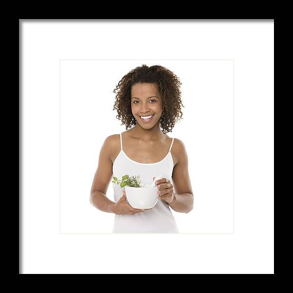 20s Framed Print featuring the photograph Healthy Diet by