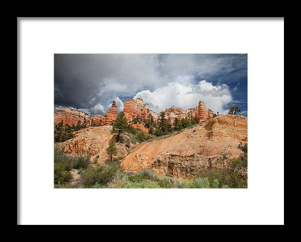 Southern Utah Framed Print featuring the photograph Bryce Canyon National Park by Southern Utah Photography