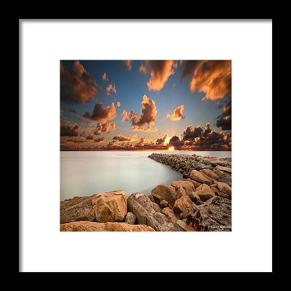 Framed Print featuring the photograph Instagram Photo by Larry Marshall