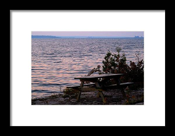 A Beautiful Spot Framed Print featuring the photograph A Beautiful Spot by Cyryn Fyrcyd