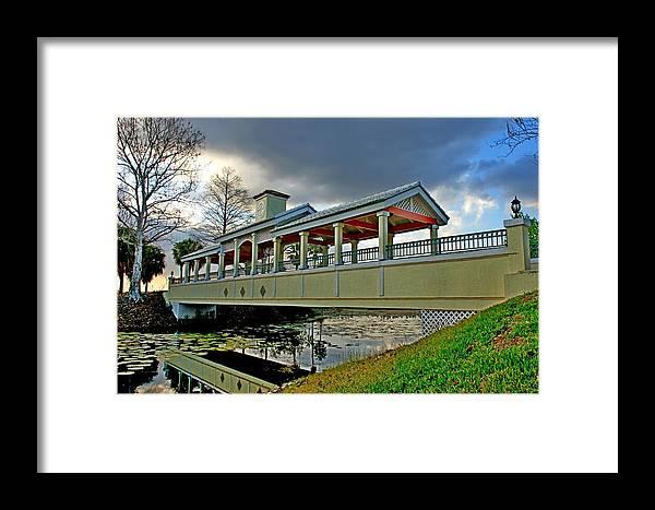 Bridge Framed Print featuring the photograph A Bridge In Time by John Pierce Jr