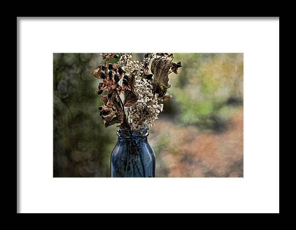 Nature Framed Print featuring the photograph A Child's Bouquet by Bonnie Bruno