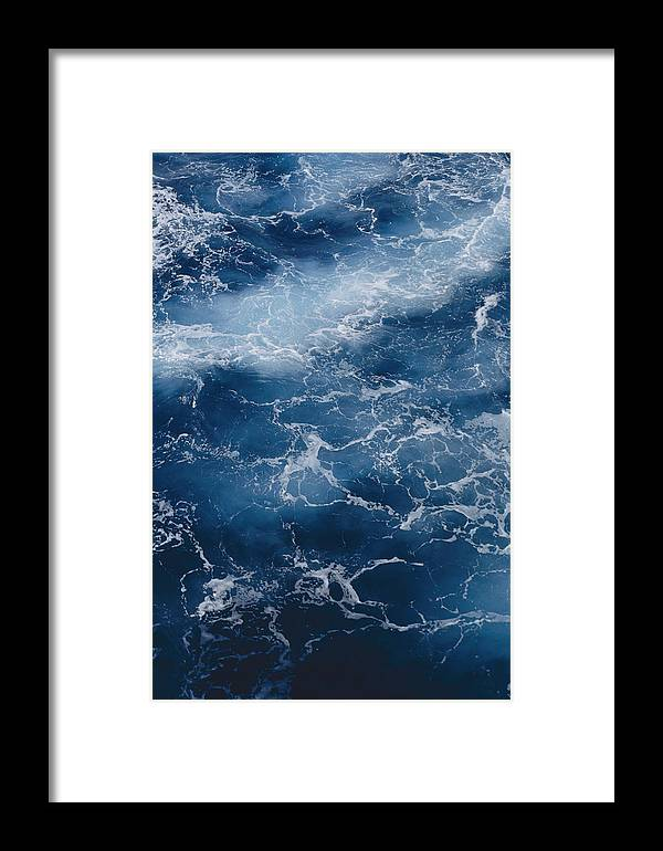 Virgin Islands Framed Print featuring the photograph A Close View Of Different Shades by Todd Gipstein