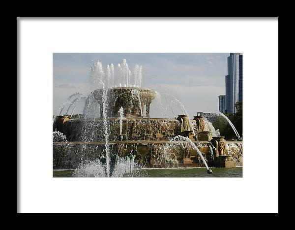 Married With Children Framed Print featuring the photograph A Famous Font by Darcy Dekker