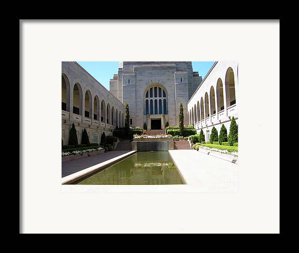 Memorial Photography Framed Print featuring the photograph A Grand Entrance by Joanne Kocwin