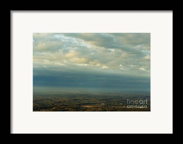 Birds Framed Print featuring the photograph A Majestic Birds Eye View by Thomas Luca