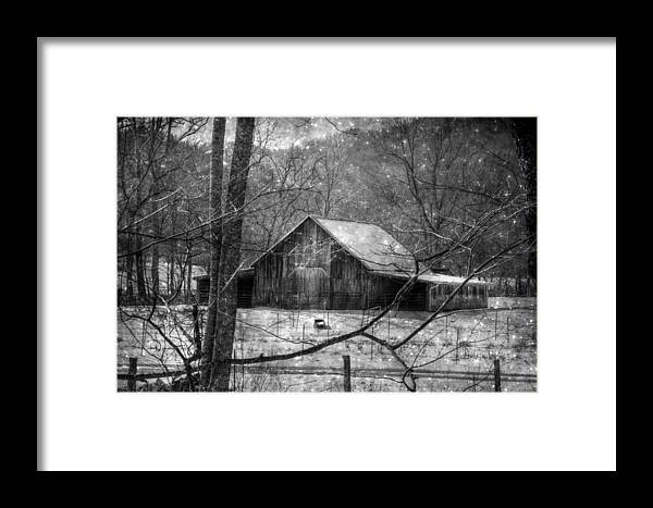 Black And White Framed Print featuring the photograph A Memory In Black And White by Christine Annas