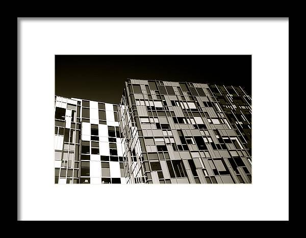 Jezcself Framed Print featuring the photograph A Once Checkered Past by Jez C Self