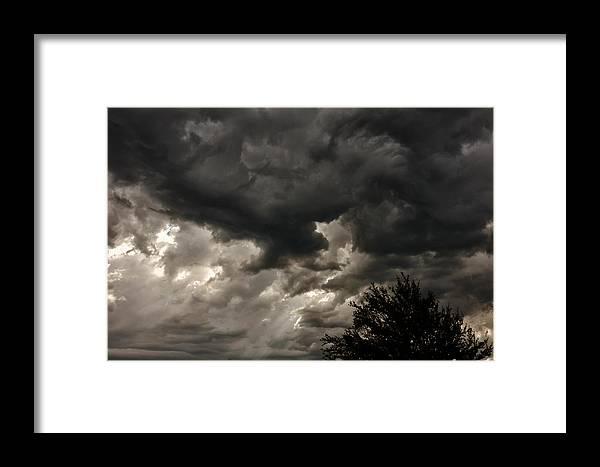 A Storm Is Born Framed Print featuring the photograph A Storm Is Born by Rachel Cohen