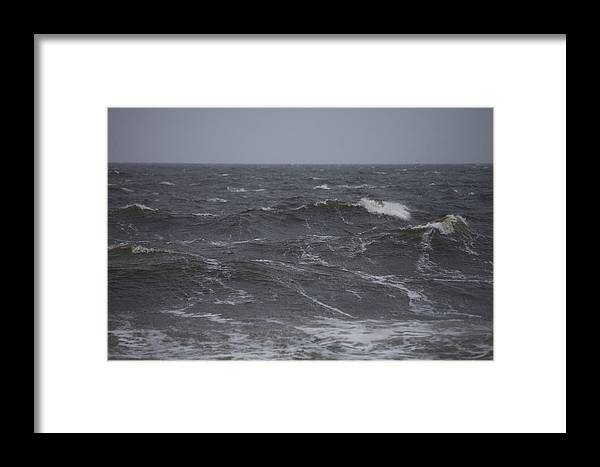 Churchill Framed Print featuring the photograph A Storm Lashed Hudsons Bay In Autumn by Taylor S. Kennedy