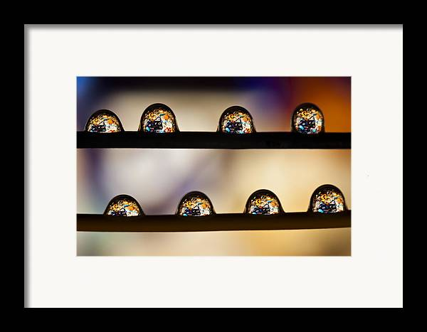 Abundance Framed Print featuring the photograph A Treasure Of Dice And Gems by Marc Garrido