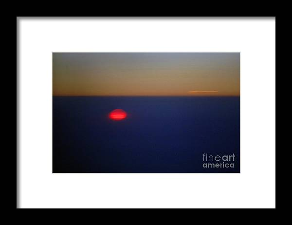Sunset Framed Print featuring the photograph Above the Sunset by Gib Martinez