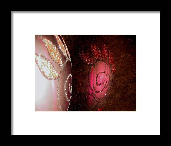 Pink Framed Print featuring the photograph Abstract 2086 by Stephanie Moore