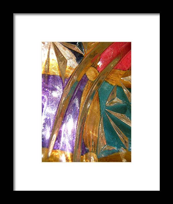 Purple Framed Print featuring the photograph Abstract 3085 by Stephanie Moore