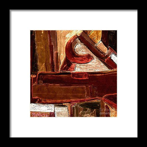 Paintings Framed Print featuring the digital art Abstract 600 by Nedunseralathan R