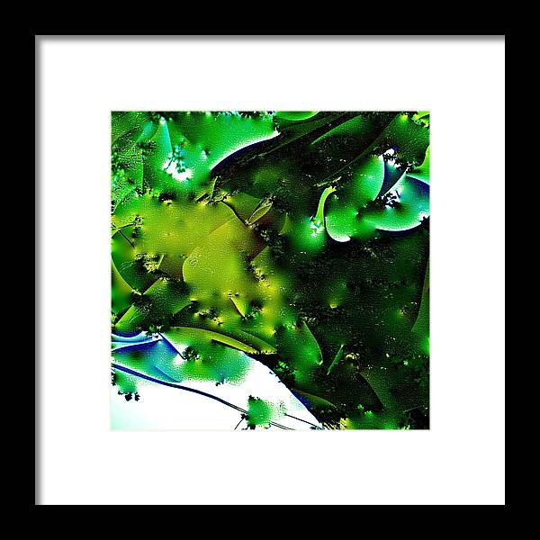Abstract Framed Print featuring the photograph Abstract 66 by Pamela Cooper