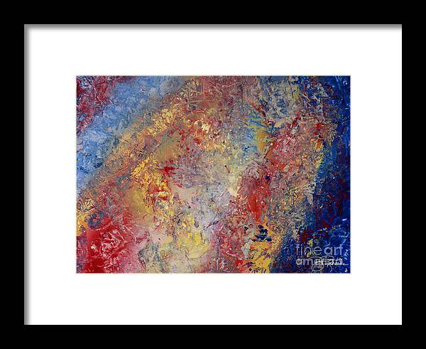 Spray Framed Print featuring the drawing Abstract by Bill Richards