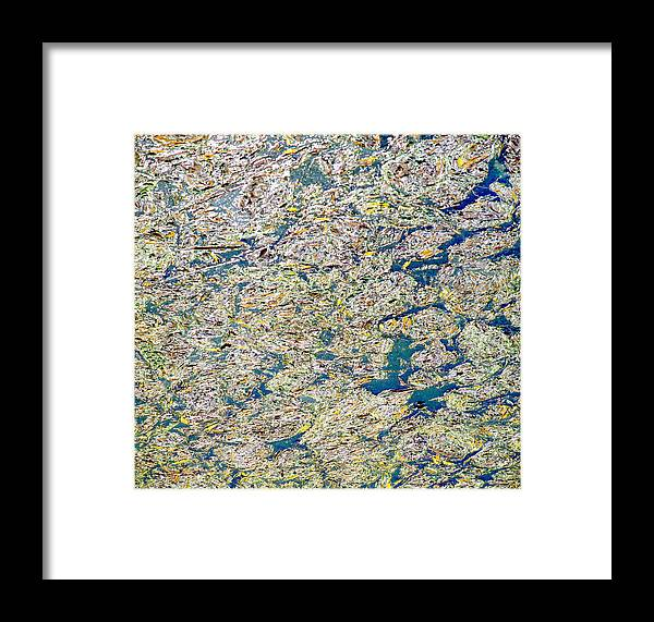 Abstract Framed Print featuring the photograph Abstract by Daniel Blatt