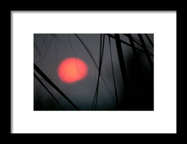 Sunset Framed Print featuring the photograph Abstract Sunset by Christine Stonebridge