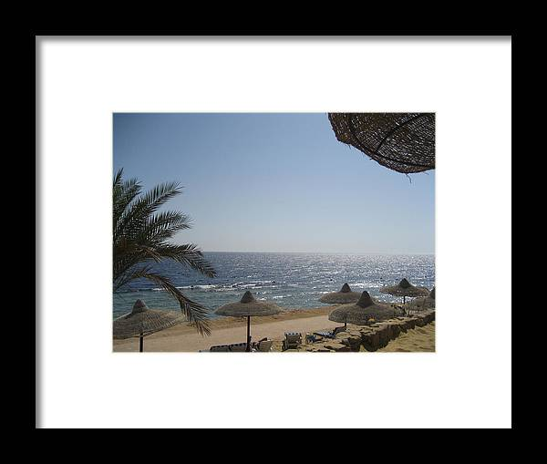 Landscape Framed Print featuring the photograph Acapuco Of Egypt by Vandna Mehta