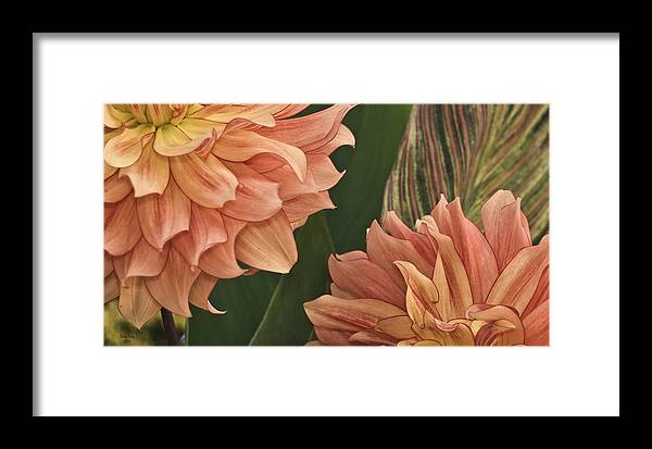 Flower Framed Print featuring the photograph Adalee's Petals by Trish Tritz