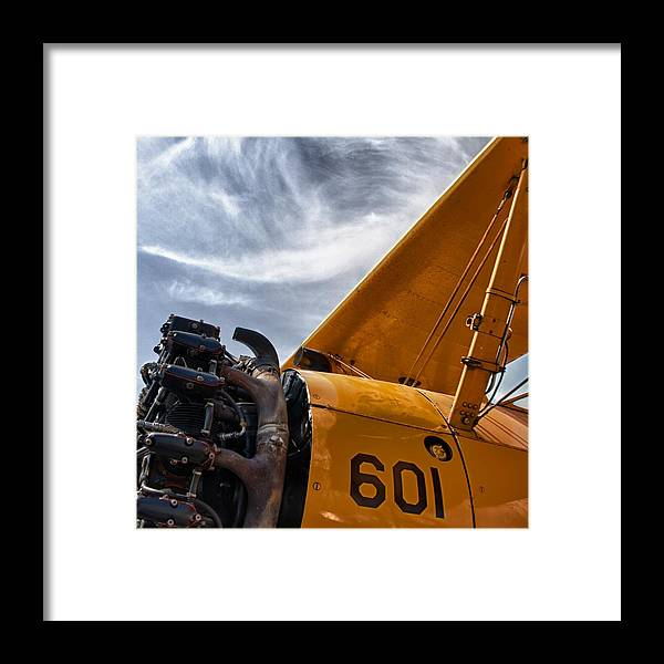 Airplanes Framed Print featuring the photograph Aero Machine 2 by Nathan Larson