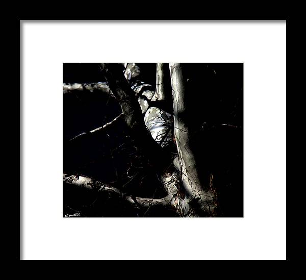 After Dark Framed Print featuring the photograph After Dark by Ed Smith