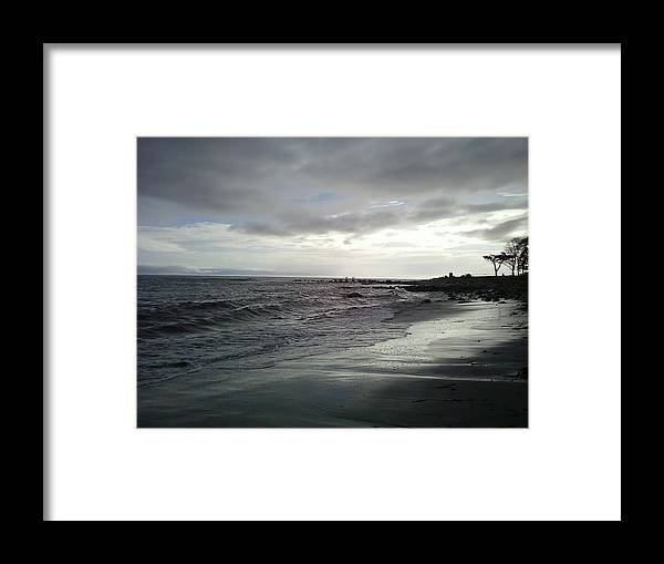 Hurricane Irene Framed Print featuring the photograph After The Storm by Jennifer Lamb