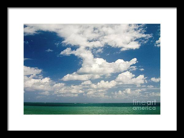 Oahu Framed Print featuring the photograph After The Storm by Kimberley Bennett