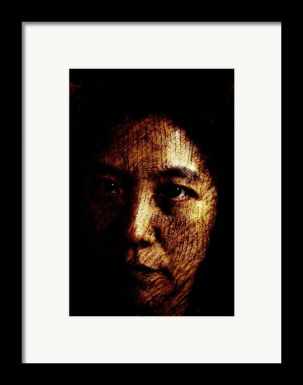 Ageless Framed Print featuring the painting Ageless by Christopher Gaston