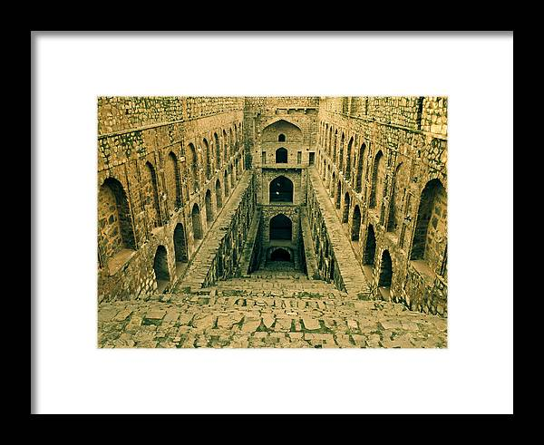 Agrasen Ki Baoli Framed Print featuring the photograph Agrasen Ki Baoli by Sandeep Pandey