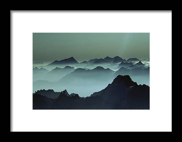 Europe Framed Print featuring the photograph Air Pollution Settles Over The French by Paul Chesley