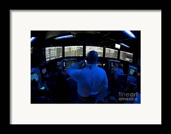 Adults Only Framed Print featuring the photograph Air Traffic Controller Watches by Stocktrek Images