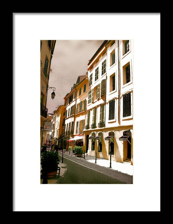 France Framed Print featuring the photograph Aix en Provence by Jim Painter