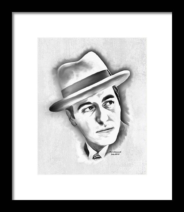 Pencil Framed Print featuring the drawing Al Pacino As Michael Corleone Of The Godfather by Bill Ashworth