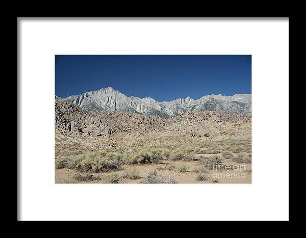 Alabama Hills Framed Print featuring the photograph Alabama Hills by Cassie Marie Photography