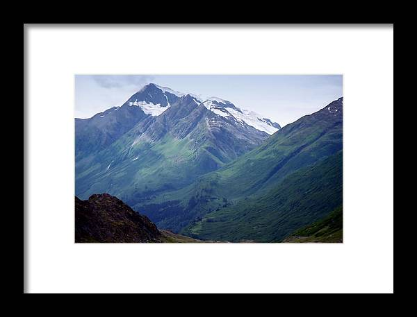 Photography Framed Print featuring the photograph Alaska Range 1 by Lynnette Johns