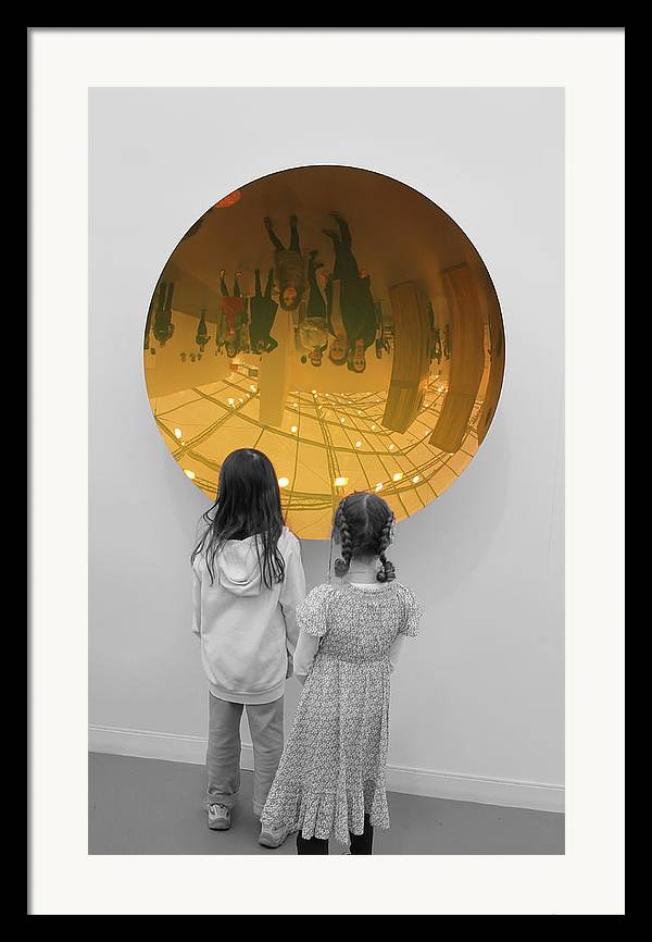 Girls Framed Print featuring the photograph Aliens by Nina Mirhabibi
