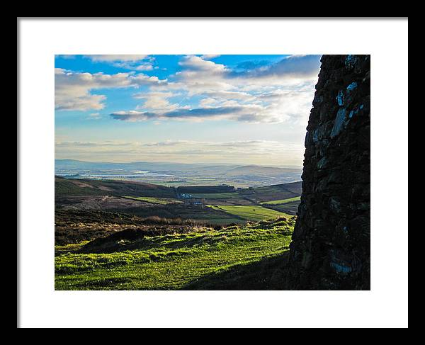 Ireland Framed Print featuring the photograph All Along The Watchtower by Black Sun Forge