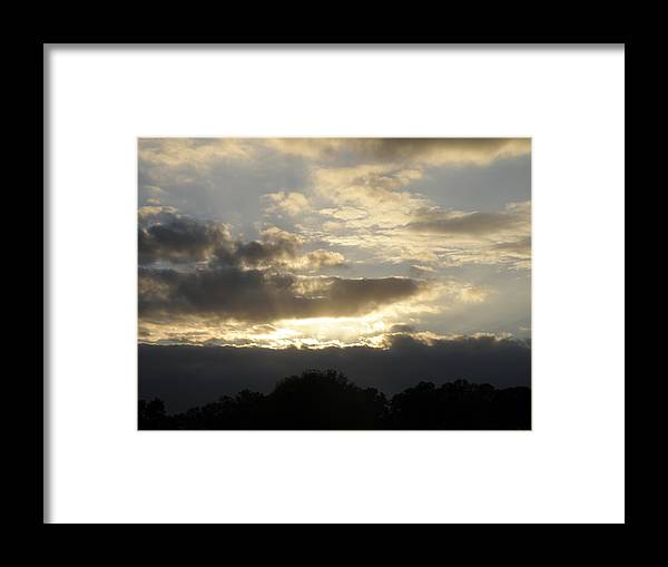 Sunrise Framed Print featuring the photograph Alleluia by Mary Hurst